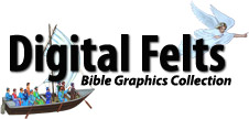 Digital Felts - Bible Graphics Collection